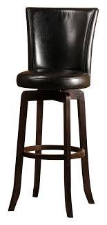 amazoncom hillsdale  copenhagen swivel bar stool black