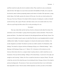 mla style essay mortality essay the lost boys who dwell in neverland 3