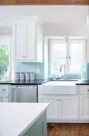 kitchen backsplash blue subway tile. Tiffany Blue Subway Tile Backsplash Kitchen