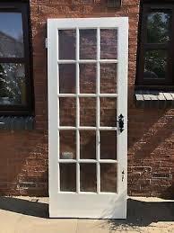 interior glazed door 15 glass panels