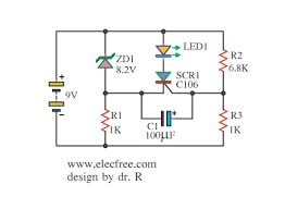 battery low voltage alarm indicator circuits led display for battery