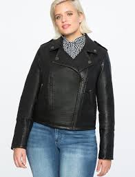 crafted in ery soft faux leather this leather jacket is one seriously cool girl investment piece you ll be wearing now and ten years from now