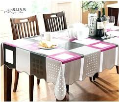 dining table cover pad round dining table cover modern embroidered polyester dining table cloth function cover dining table cover