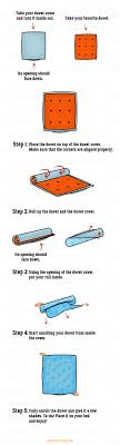 a surprisingly easy way to put on a duvet cover this is genius