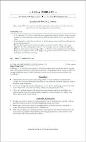 Resume Nurse Objective Examples Of Nurse Resumes Nurse Me Sample No