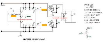 timer ic inverter circuit schematic 12v to 220v electronics circuits 7 simple inverter circuits you can build at home homemade circuit timer ic inverter circuit schematic 12v to 220v electronics circuits