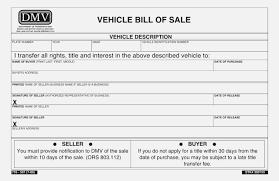 Dmv Printable Bill Of Sale Top 43 Sweet Printable Bill Of Sale Form Kongdian