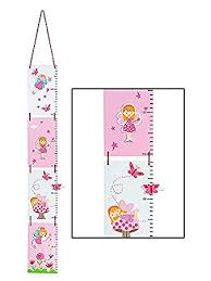 Amazon Com Fairy Themed Height Growth Chart For Girls