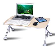 lapdesk height adjule bed computer desk folding tilt adjust lazy people laptop table student notebook laptop
