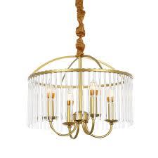 Vintage Mid Century Pendant Light Ganeed 4 Lights Chandelier Lighting Mid Century Vintage Pendant Light With Metal Cage Shape Brushed Brass Rustic Dinning Room Adjustable Hanging
