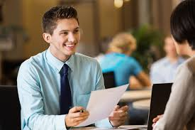 Professional Interview Young Professional College Student With Resume At Job Interview