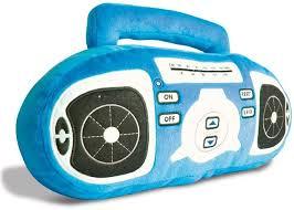 pillow radio. plush fm radio pillow l