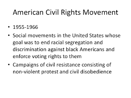 introduction to research paper 17 american civil rights movement