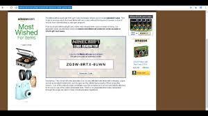 free minecraft gift code generator no survey 2018