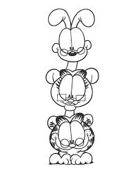 127 Dessins De Coloriage Garfield Imprimer Sur Laguerche Com Page 6