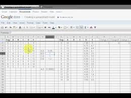 Forecasting Spreadsheet Creating A Spreadsheet Model For Forecasting Outcomes