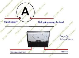 ac amp meter wiring diagram tciaffairs amp meter wiring diagram mtd how to wire ammeter for dc and ac ampere measurement electrical with regard to ac