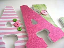 9 wooden letters wall decor walls decor in how to decorate wooden letters for nursery