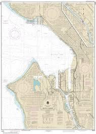 Elliott Bay Tide Charts 18450 Seattle Harbor Elliott Bay And Duwamish Waterway