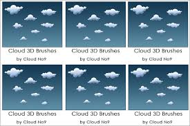Cloud Photoshop Brushes 25 Cloud Photoshop Brushes Free Abr Asl Atn Format Download