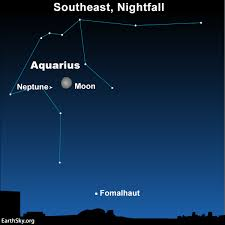 Moon And Neptune On October 12 Sky Archive Earthsky