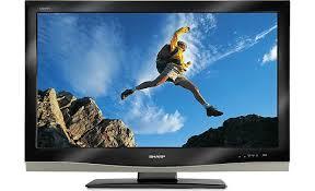 sharp tv canada. sharp lc-37d62u front tv canada
