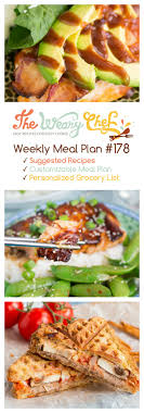 weekly meal planning for two cooking for two easy weekly dinner menu 178 the weary chef