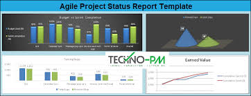 Project Management Report Templates Agile Project Status Report Template Excel Project