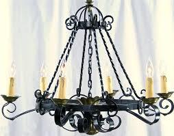 spanish wrought iron chandelier home decor ideas antique lighting