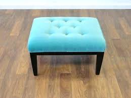 teal leather ottoman teal tufted ottoman ottoman teal teal ottoman coffee table