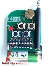 dip switch garage door opener remote amazing gate controls