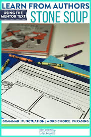 This is reading comprehension, and it is an essential skill. Stone Stoup Book Activities