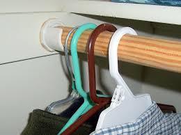 image of beauty closet pole supports