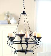 iron candle chandelier holder chandeliers design awesome image of small wrought uk