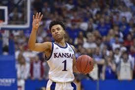 Kansas Guard Devon Dotson ...