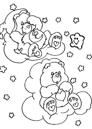 Small Picture Care bears sleeping coloring pages Hellokidscom