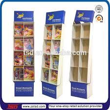 Cardboard Book Display Stand New Tsdc32 Custom Book Store Free Standing Template Cardboard Display