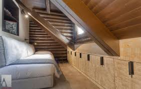 Bedroom:Grey Ceiling Attic Idea With Large Glass Window Ideas Awesome Small  Loft Bedroom Mountain