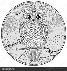 25 Vinden Mandala Uil Kleurplaat Mandala Kleurplaat Voor Kinderen