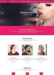 Hair Saloon Websites Best Beauty Salon Website Templates Free Download 2019 Webthemez