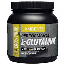 <b>L</b>-<b>Glutamine</b> Powder 500g | Sports Amino Acids | Lamberts Healthcare