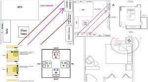 feng shui bedroom furniture placement. Shui-Bedroom-With-Two-Doors-feng-shui-layout- Feng Shui Bedroom Furniture Placement F