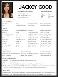 Actor Resume Template Word New 48 Acting Resume Template For Microsoft Word Httpresumesdesign