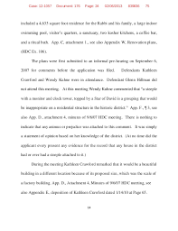 chabad lubavitch v borough of litchfield appellee brief united sta  the addition 13 24