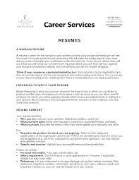 Resumes Titles Resume Title Samples Uwaterloo Co