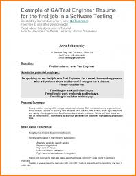 First Job Resume Objective Examples Of Resumes Statement For 11