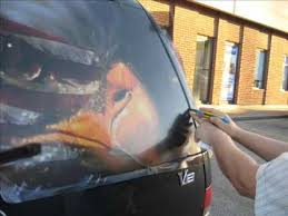 How To Apply Backscapes Rear Window Graphics By Decaldriveway