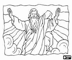 Kleurplaat God De Vader In De Hoogste Kleurplaten