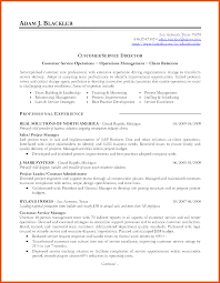 resume categories | moa format