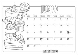 Calendarios Para Imprimir 2015 Calendarios Del Mes De Junio 2015 Para Imprimir Y Pintar